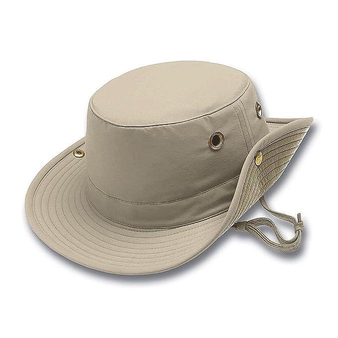 0a96d03545afd Tilley Hats T3 Packable Sun Hat - Khaki 8+  Amazon.co.uk  Clothing
