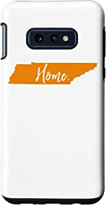 Galaxy S10e Home Tennessee State Orange Vol Vintage Southern Football Case