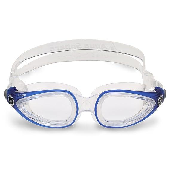a2ec6e8a9b Aqua Sphere - Gafas de natación Eagle, Color Blanco: Amazon.es: Deportes y  aire libre