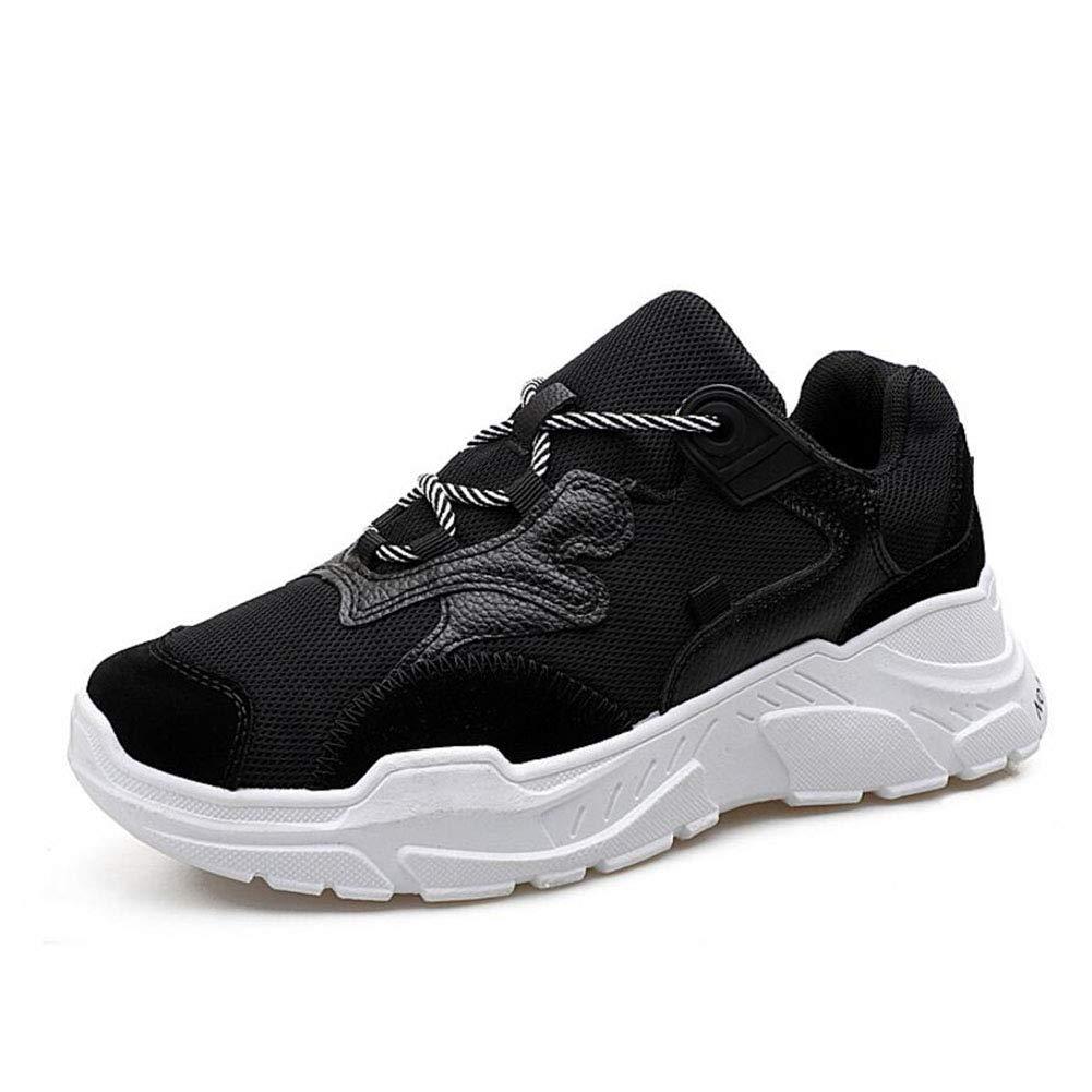 YAXUAN herren Herrenschuhe, 2019 erhöhte alte Schuhe Herren Casual Sports Wind Single Schuhe Mens Student Flut Schuhe (Farbe   EIN, Größe   40)