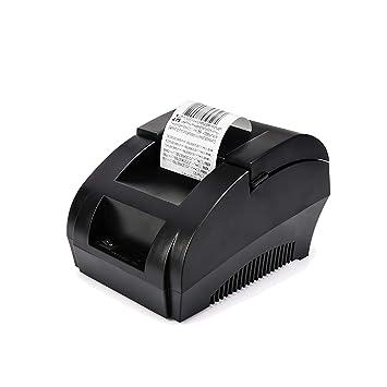 Impresora de Recibos térmicos USB de 58 mm, impresión de ...