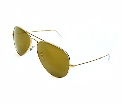 ray ban aviator sunglasses gold mirror rb3025 w3276