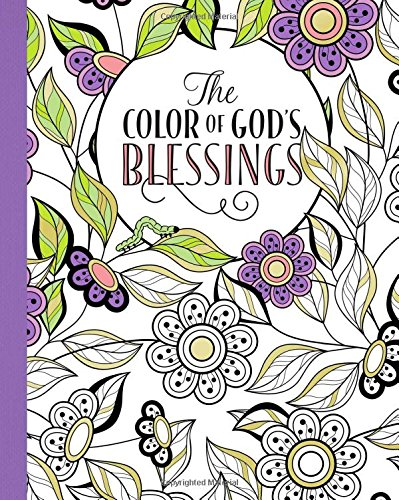 The Color of God's Blessings (Blessing Postcard)