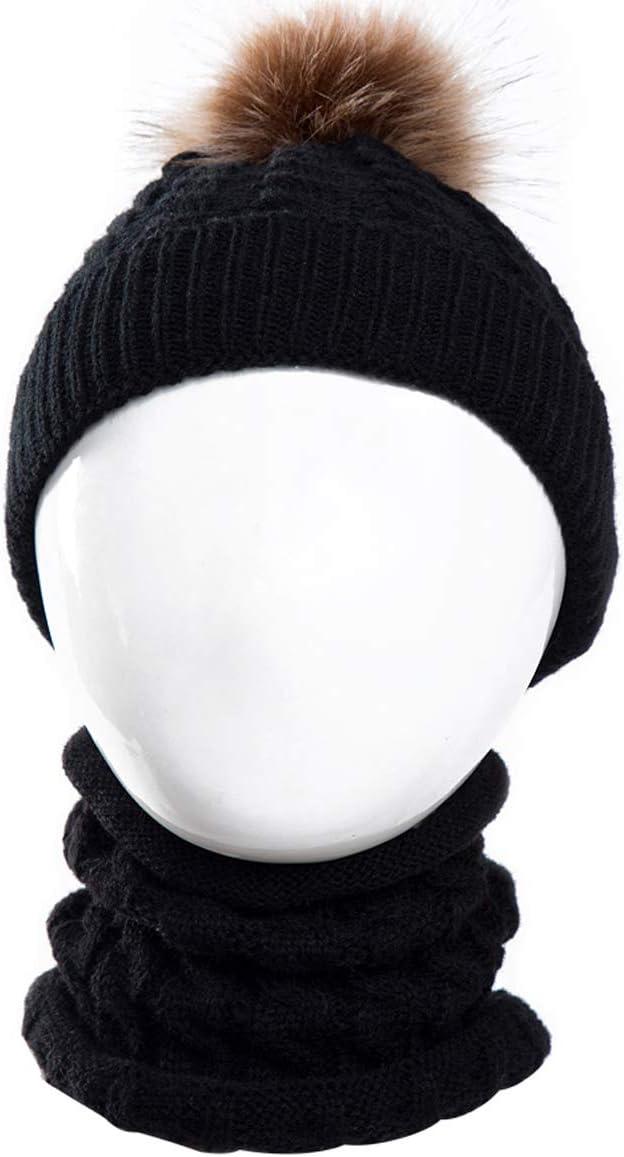 Xingyue Direct Neugeborenes Baby Häkeln Strickmütze Halstuch Kleinkind Kinder Junge Mädchen Kleinkind Winter Warme Gemütliche Mütze Schal Anzug Auto
