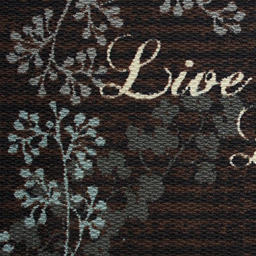 Structures Textured Loop 18 x 30 in. Wedge Kitchen Rug, Live Laugh Love by Structures (Image #3)