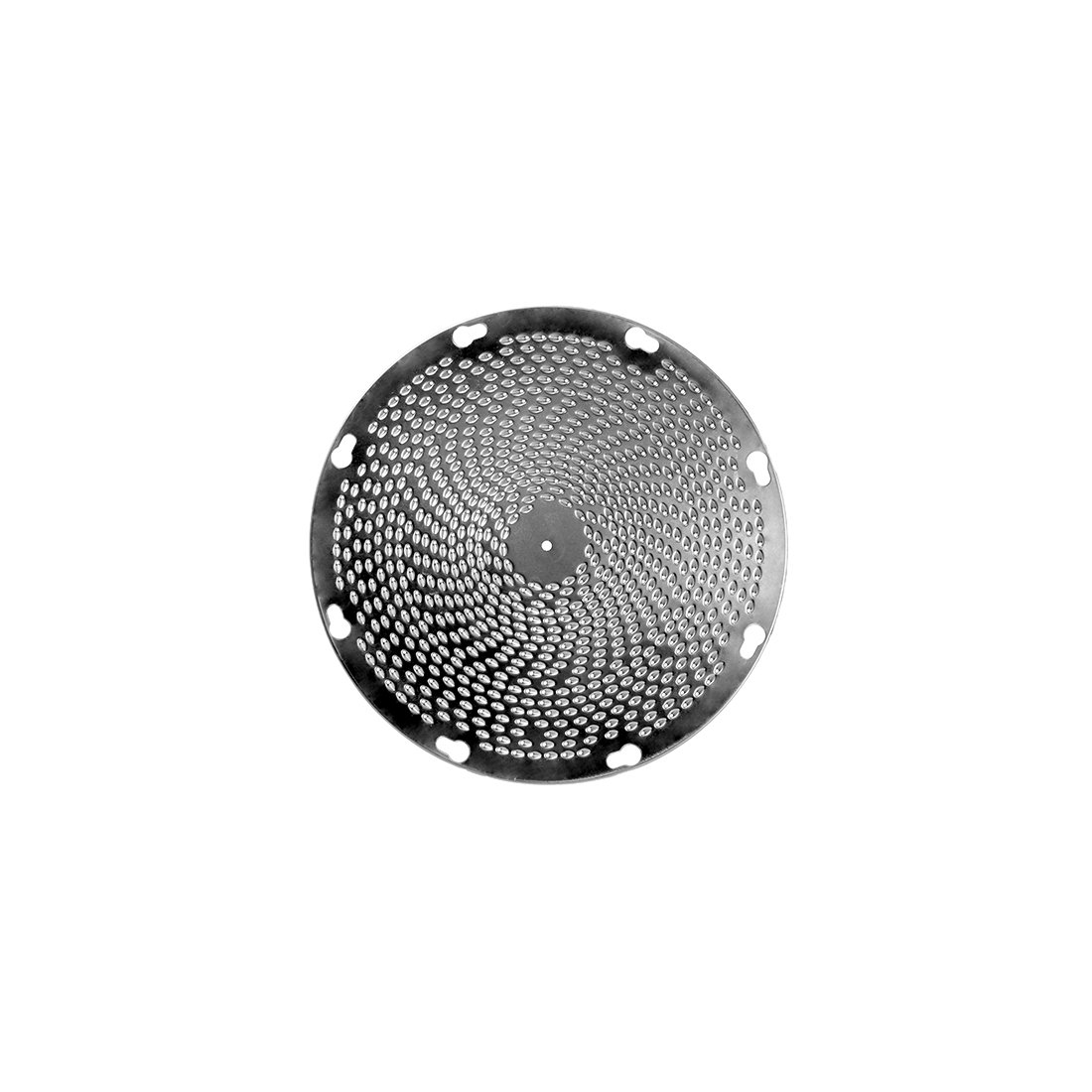 ALFA International KD-5/64 5/64'' Holes Grater-Shredder Disk, Extra Fine, Stainless Steel