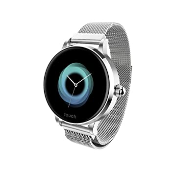 HHJEKLL Pulsera Inteligente 2019 1.04 Inch IPS Color Display ...