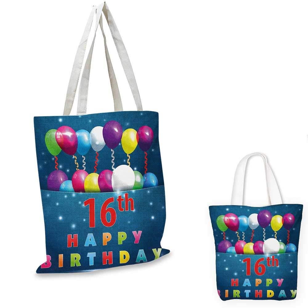 【正規品直輸入】 16歳の誕生日お祝い ファンキー アートワーク 新時代 モダンパーティー 招待状 ファンキー ティーンエイジ タイポグラフィー アートワーク B07KBXF9BC マルチカラー 16