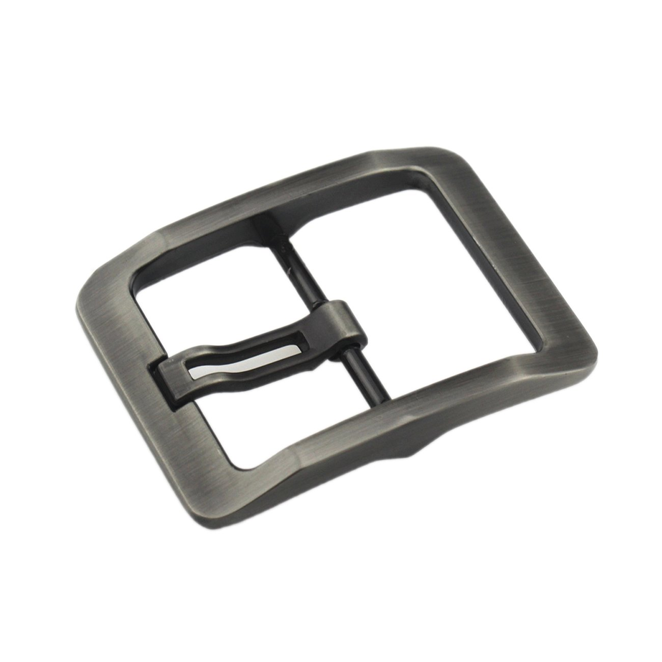 1.5 (37-40 mm) Single Prong Square Belt Buckle Replacement Belt Buckle (Bronze01)