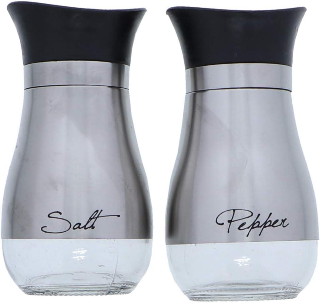 Basic Salt & Pepper Shakers - Stainless Steel