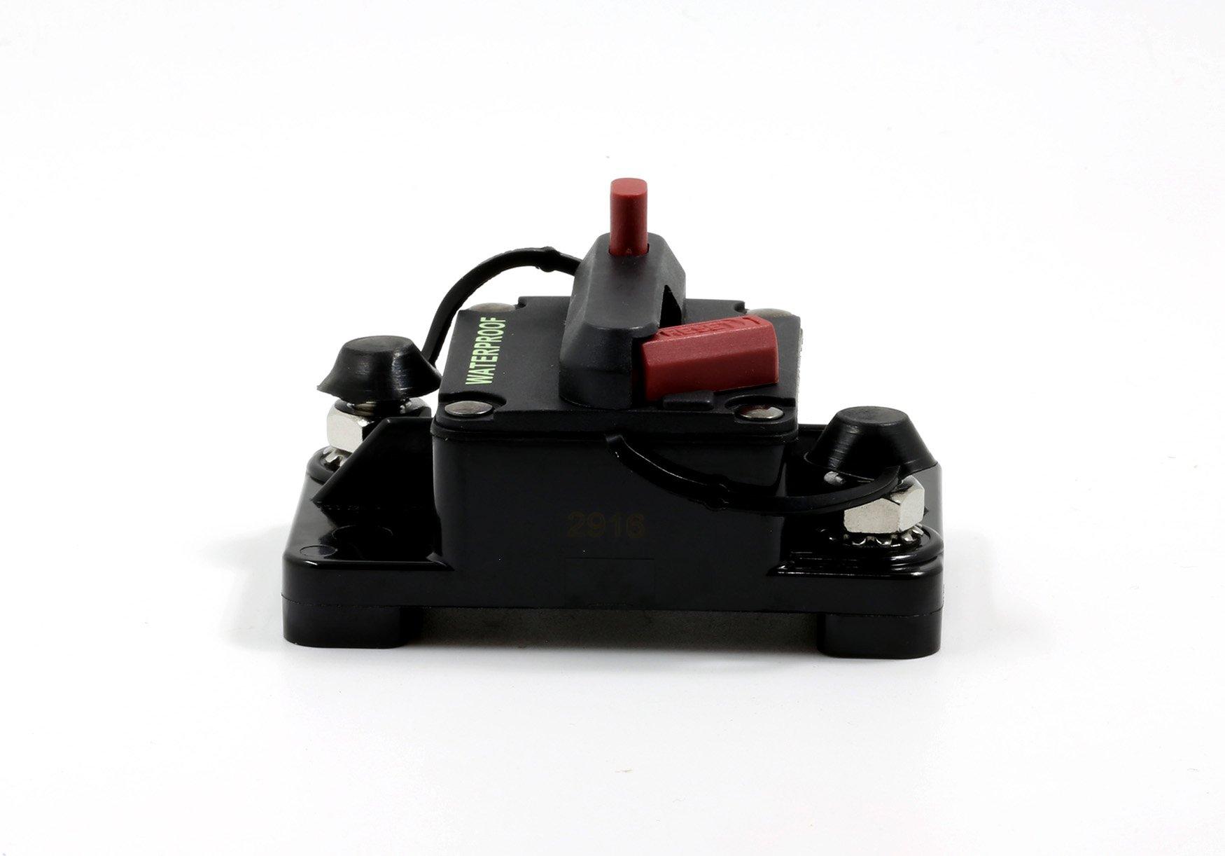 Lumision Waterproof Automotive Circuit Breaker Manual Reset upto 48VDC 70AMP by Lumision (Image #7)
