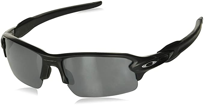 058ff4e3c1 Amazon.com  Oakley Men s Flak 2.0 Sunglasses Matte Black  Clothing