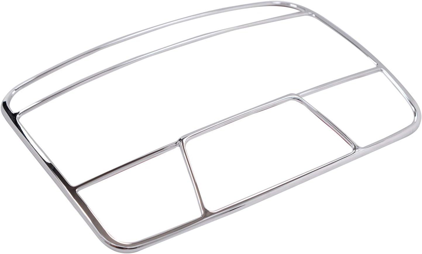 WOVELOT Per Mercedes W205 Classe C C260 e Classe W213 E200L Glc 2015-2017 Accessori Auto ABS Luce di Lettura Anteriore Decorare Cornice Trim