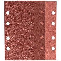 Bosch - Titreşimli Zımpara Kağıdı 10'Lu Set, 93 X 185 Mm 60/120/180 Kum 8 Delik