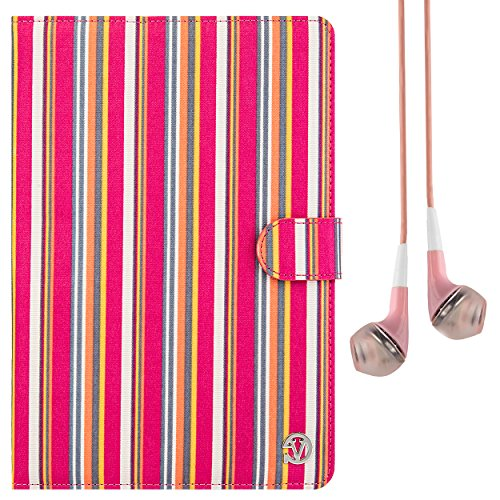 Vangoddy Portfolio Case for Kocaso 7 inch Tablets and Earbuds