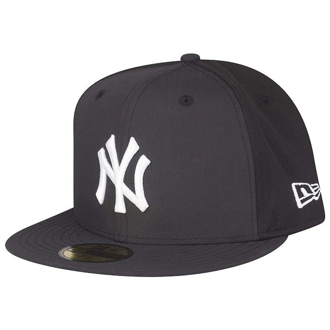 New Era Berretto Aderente Sport Pique 59Fifty York Yankees Nero-Optic  Bianco  Amazon.it  Abbigliamento 28f86f76c4c9