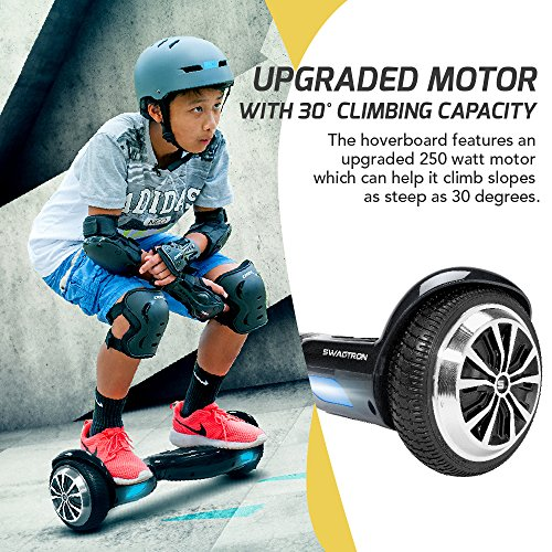 SWAGTRON T1 - UL 2272 Certified Hoverboard - Electric Self-Balancing  Scooter - Your swag personal transporter awaits you