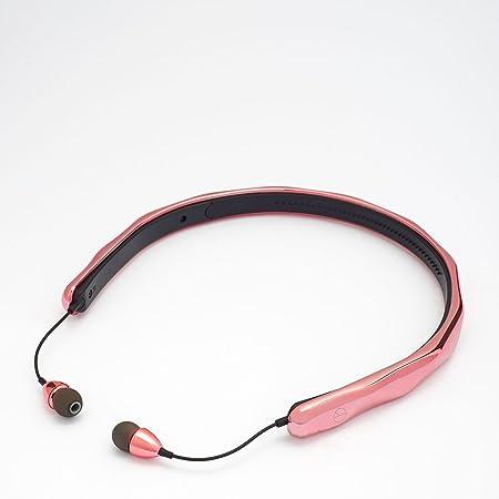 PMO SOUNDBAND Rose Gold Edition Wireless Bluetooth Headset with Mic