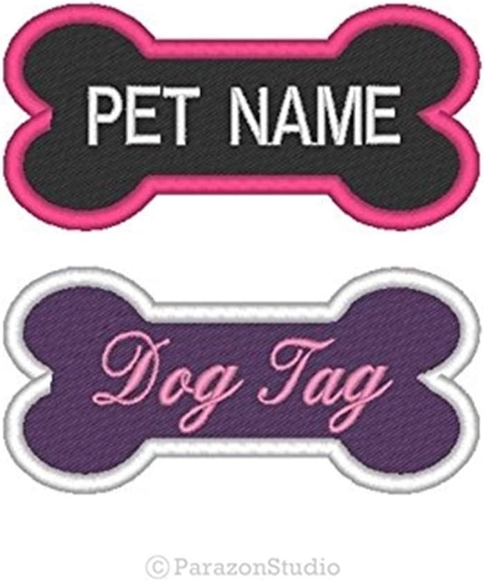 TERRY EMBROIDERED SEW ON NAME PATCH LOT OF 3 ~ NAME TAG