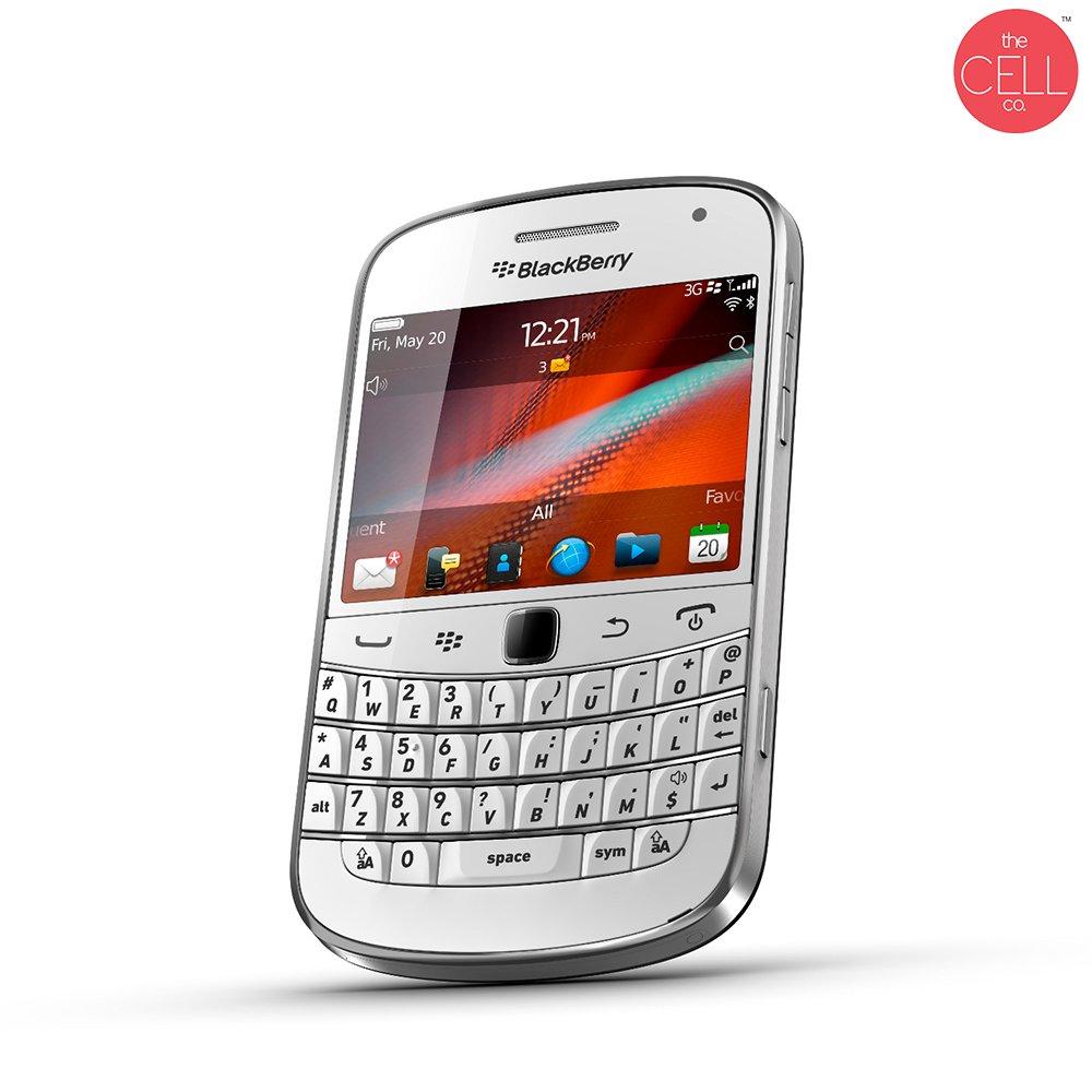 BlackBerry Bold 9900 Qwerty Keypad Factory Unlocked (WHITE)