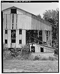 Photo Dennison Bank Barn Brackenville New Castle County Delaware De Habs 1