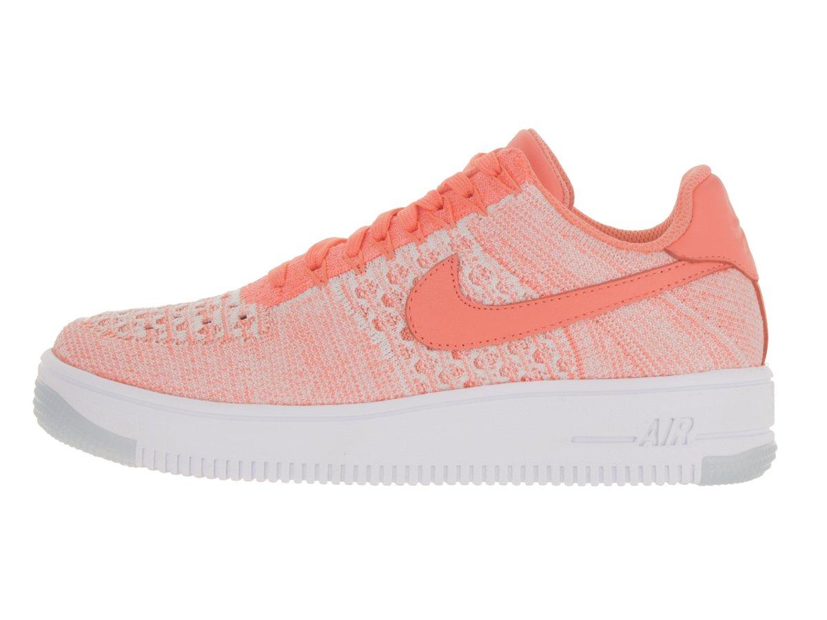 pink white. Calzado Casual NIKE/ Flyknit White AF1 Para Mujer Atomic Pink/ 3c645f5 Pink
