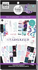 The Happy Planner Sticker Value Pack - Scrapbooking Supplies - Stargazer Theme - Multi-Color - Great for Projects, Scrapbooks & Albums - 30 Sheets, 583 Stickers Total
