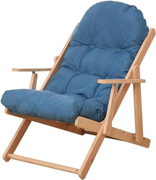Sillas de patio de salón ajustables Sillón reclinable plegable ...