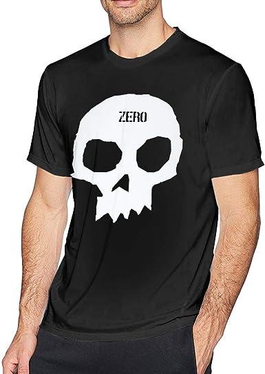 Skull Zero T-Shirt Small Black