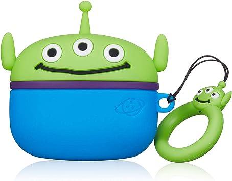 ケース for Airpods Pro キャラクター かわいい イヤーチップ シリコン おしゃれ 落下防止 衝撃を防ぐ アニメ 可愛い 漫画 人気 萌え ダストガード Airpod 第3世代に カバー Air Pods 3 (Planet Three Eyes)