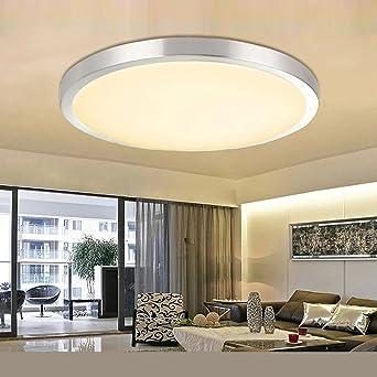 ETiME® LED Deckenleuchte 18W Deckenlampe Rund Modern Wohnzimmer ...