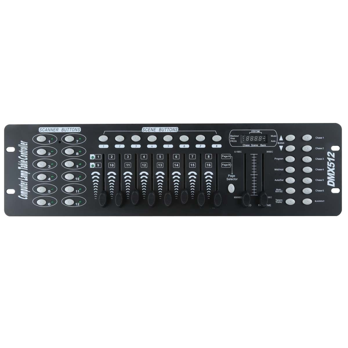 Amazon.com: Tengchang DMX 512 Controller 192 Channel Operator Console For  Stage Party DJ Lighting: Musical Instruments