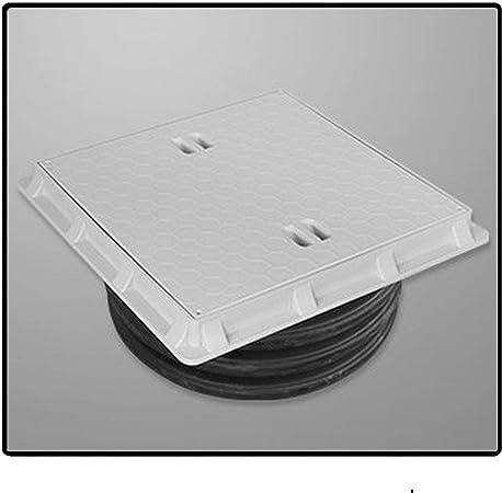 DN600 Tapa Para Arqueta Desagüe Cubierta Adequa Cisterna Tapas Arquetas Tapedera plastico composite: Amazon.es: Hogar