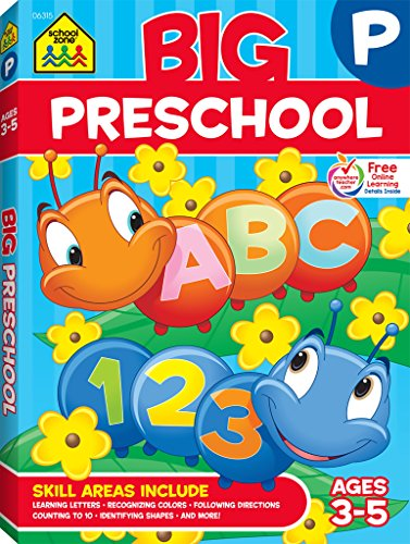 Big Preschool Workbook - Plano Tx Us
