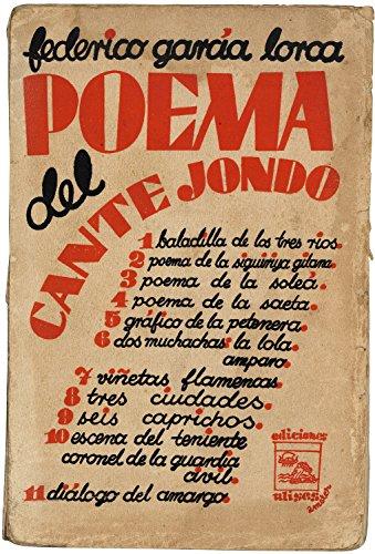 Amazoncom Poema Del Cante Jondo Spanish Edition Ebook