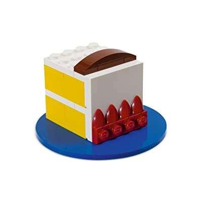 Exclusive Lego Birthday Cake #40048 80th Celebration Limited Edition: Toys & Games