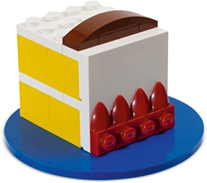 Outstanding Amazon Com Exclusive Lego Birthday Cake 40048 80Th Celebration Personalised Birthday Cards Epsylily Jamesorg