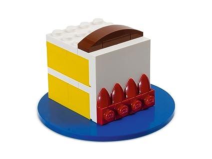 Amazon.com: LEGO Exclusivo torta de cumpleaños # 40048 80th ...