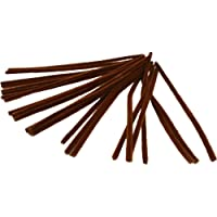 Pipe Cleaners, thickness 9 mm, L: 30 cm, brown, 25pcs