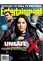 Entertainment weekly x-men unsafe x issue 1…