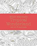 Millie Marotta's Tropical Wonderland - journal set: 3 notebooks (Colouring Books)