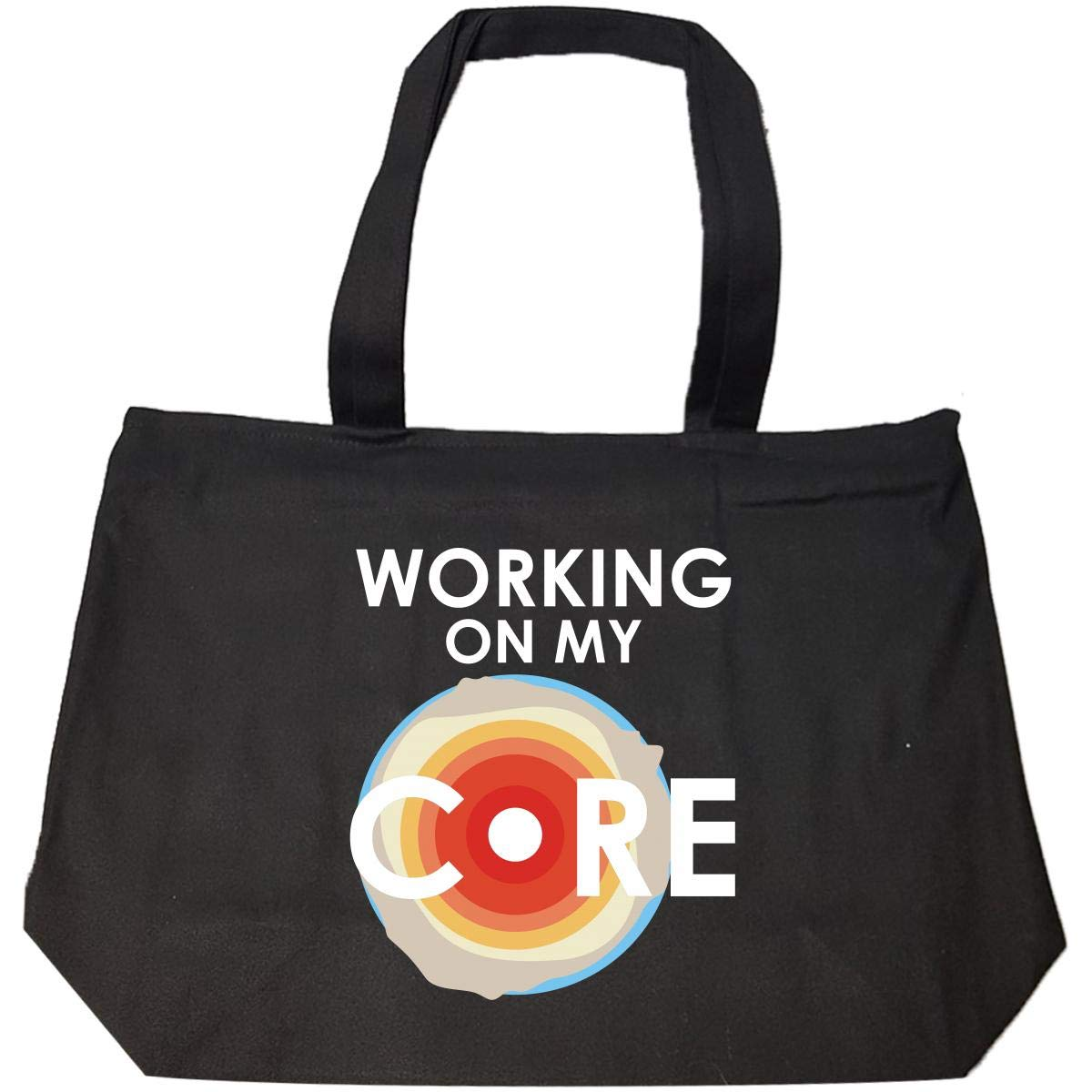 Working On My Core Tote Bag With Zip
