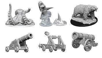 Amazon com: WizKids Deep Cuts Miniatures W9: Cannon, Large