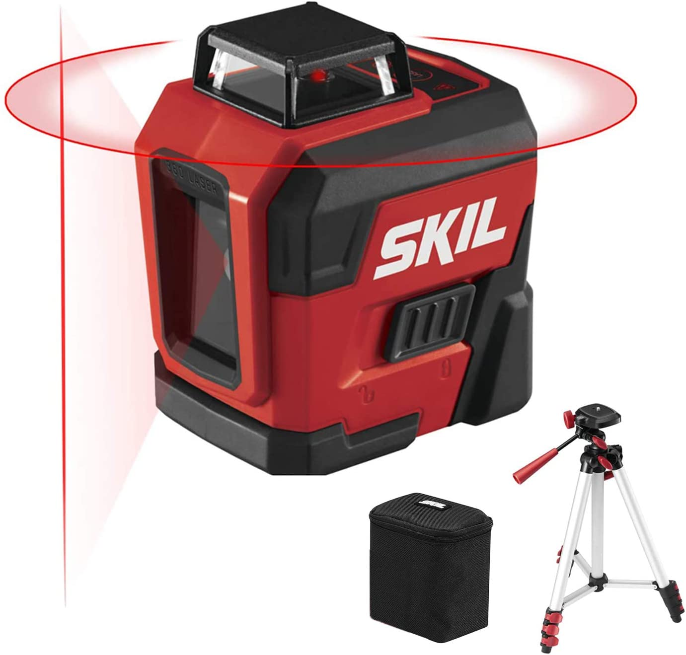 Leveling Tool Omnidirectional Ground and Wall Sticker with Vertical Horizontal Oblique Line Deliver Without Dry Battery 2 Cross-Lines Laser Level Kecheer IP54 Laser Level 4/° Self-Leveling Function