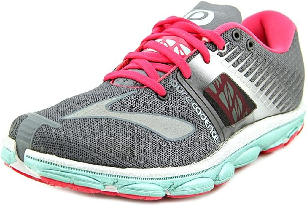BROOKS PureCadence 4 Zapatilla de Running para Mujer, Gris/Rosa, 37.5: Amazon.es: Zapatos y complementos