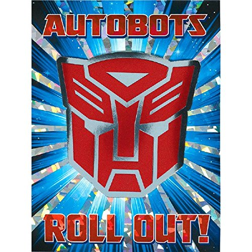 amscan Transformers Party Invitations | Pack of 8 | Party - Birthday Card Transformers