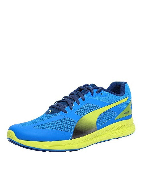 Zapatos Corrientes De Los Hombres De Malla Puma Ignite (azul) ZYcxRQVE