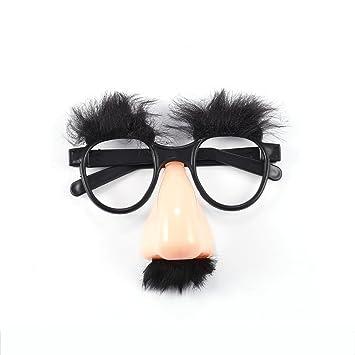 Glasses Nose Moustache Novelty Fun Accessory Clothes, Shoes & Accessories Fancy Dress Disguise Set Accessories