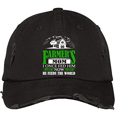 46013168c FLOSTORE He Feeds The World Hat, I Once Fed Him District Distressed ...
