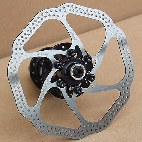 Trifycore 160 mm Disco de Freno del Rotor con 6 Tornillos de Acero ...